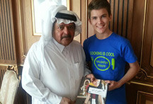 Sheik Faisal and Valentin Kidsbook
